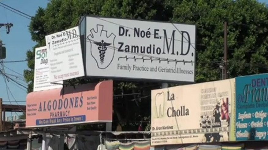 Nicknamed Molar City, Los Algodones in Mexico is said to be occupied by more dentists than anywhere else in the world.