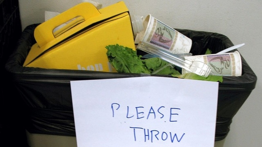 A common English as a Second Language preposition mistake: Throw out, throw up--isn't it the same thing?