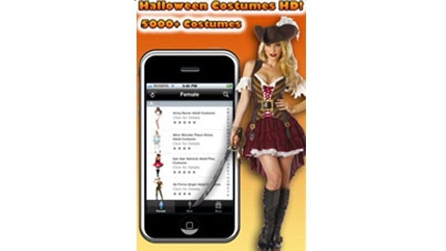 The Halloween Costume Fashion Fun for Kids and Adults app for iPhone.