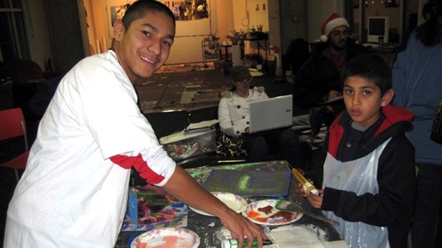 Nov. 2, 2011: Salvador Flores will receive the 2011 National Arts and Humanities Youth Program award by First Lady Michelle Obama on Wednesday.