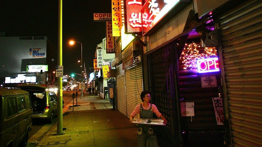 Los Angeles has Koreatown (above) and Chinatown. Now Salvadorans want a community of their own.