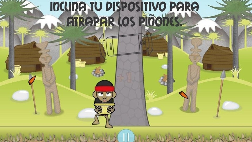 "One of Idea.me's first projects was ""Pewen Collector,"" an iPhone game that adapts Mapuche themes."