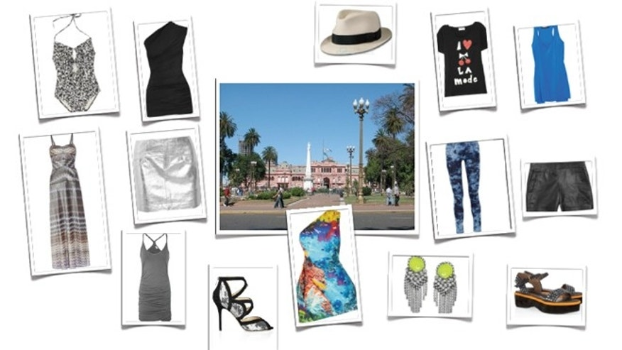 City Vacation Fashion Pieces