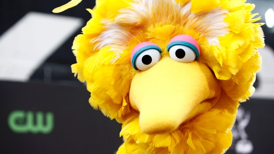 Big Bird, of the children's television show Sesame Street, in Los Angeles. (AP Photo/Matt Sayles, File)
