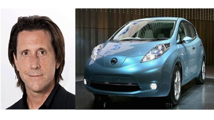 Alfonso Albaisa, Nissan's Vice President of Design Director for Global Passenger Vehicles and Electric Vehicles and the Nissan Leaf he helped design.
