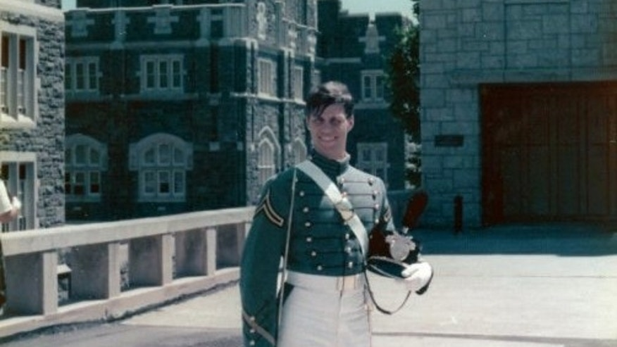 Manuel Gonzalez as a cadet at the United States Military Academy at West Point.