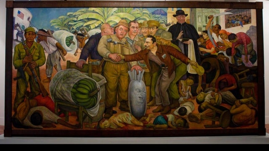 A painting by Mexican artist Diego Rivera. A Texas man recently found out he inherited from an original work by the famed artist valued at $1 million.