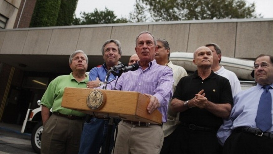 "New York Mayor Michael Bloomberg's public struggles with Spanish during Hurricane Irene prompted ""El Bloombito"" on Twitter."