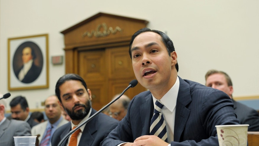 Secretary Julian Castro in a 2013 file photo.