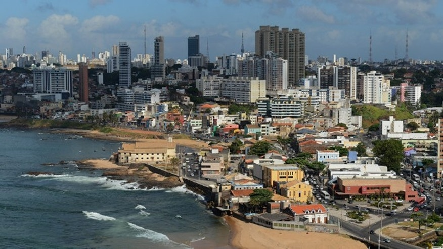SALVADOR, BRAZIL - DECEMBER 07:  A view of the city on December 7, 2012 in Salvador, Brazil.  (Photo by Shaun Botterill/Getty Images)