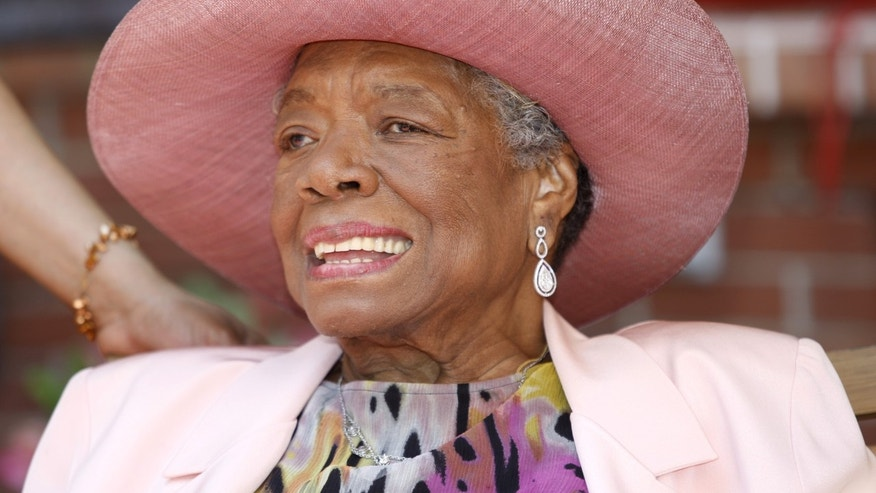 Author Maya Angelou in a May 20, 2010, file photo.