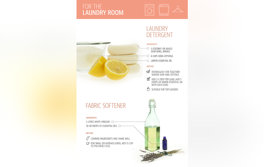 Make Your Own Natural Cleaning Products To Clean Almost