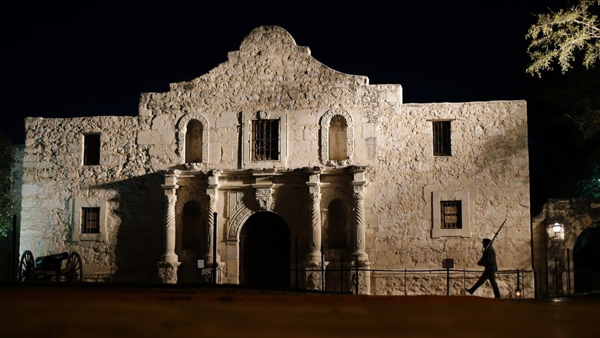 The Alamo in San Antonio, in a March 6, 2013 file photo.