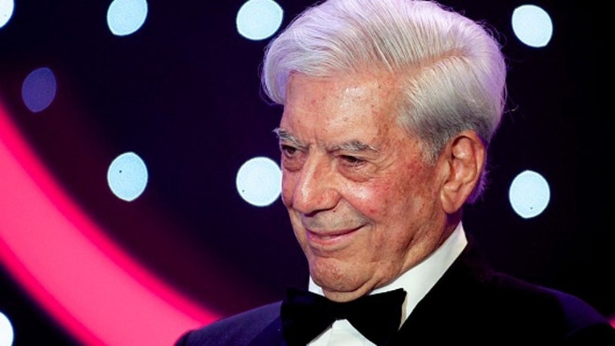 MADRID, SPAIN - FEBRUARY 06:  Mario Vargas Llosa attends the 30th edition of the 'Goya Cinema Awards' ceremony at Madrid Marriott Auditorium on February 6, 2016 in Madrid, Spain.  (Photo by Juan Naharro Gimenez/Getty Images)