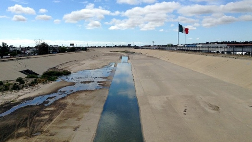 The Tijuana River as it now appears. (Photo: Rene Peralta)