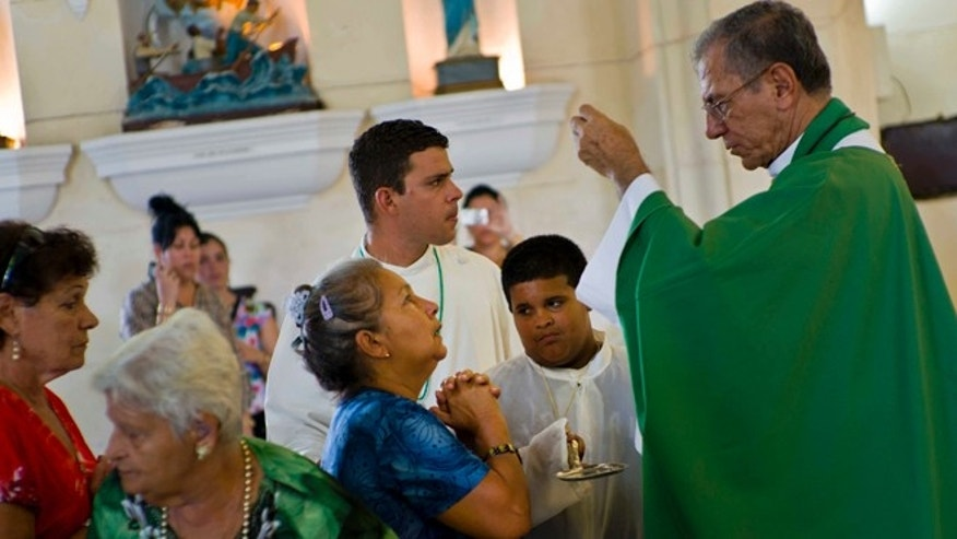 The new archbishop of Havana, Juan de la Caridad Garcia Rodriguez.