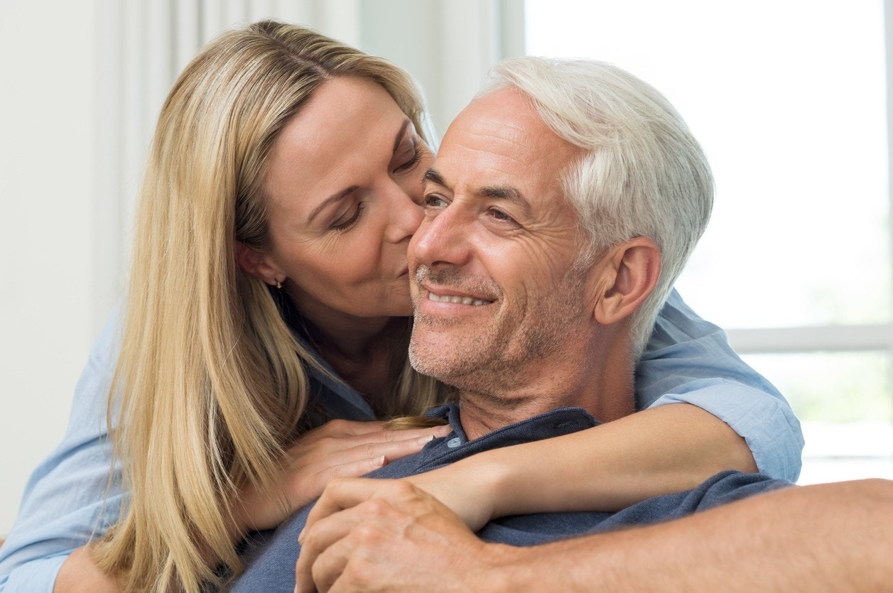 Dating over 50 when to kiss