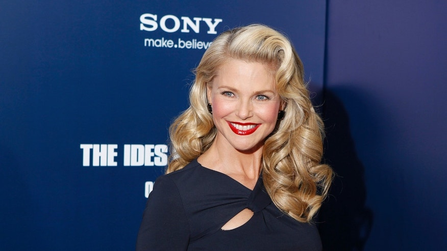 Model Christie Brinkley arrives at the premiere of Ides of March in New York October 5, 2011.