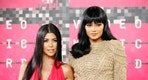 Reality television stars Kourtney Kardashian and Kylie Jenner arrive at the 2015 MTV Video Music Awards in Los Angeles, California, August 30, 2015.  REUTERS/Danny Moloshok - RTX1QC82