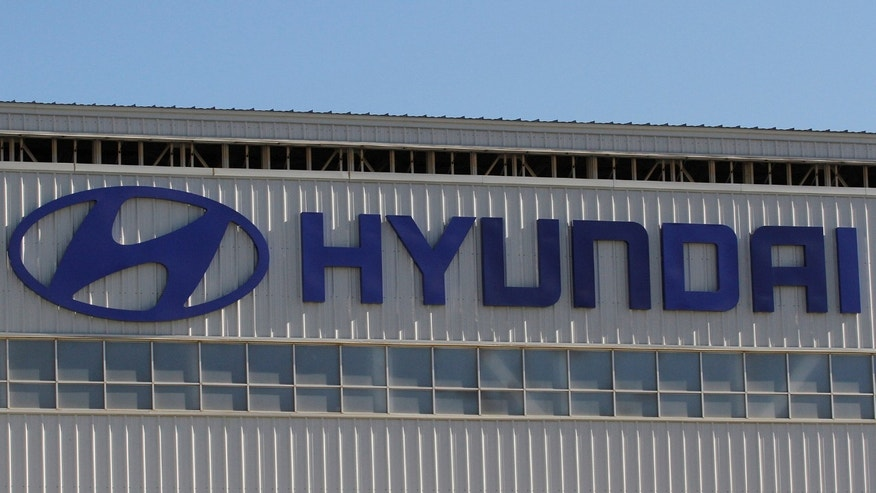 Automobile plant Hyundai is pictured in Tijuana, Mexico, April 30, 2017.