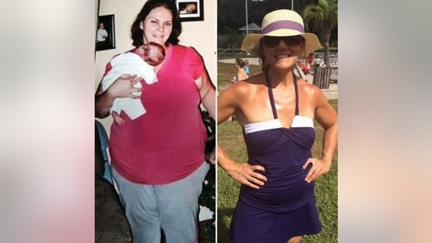 Heather Robertson, 41, lost about 170 pounds by developing sustainable healthy habits she now teaches other people to practice through her company Half Size Me.