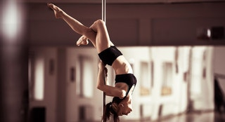 pole dancer