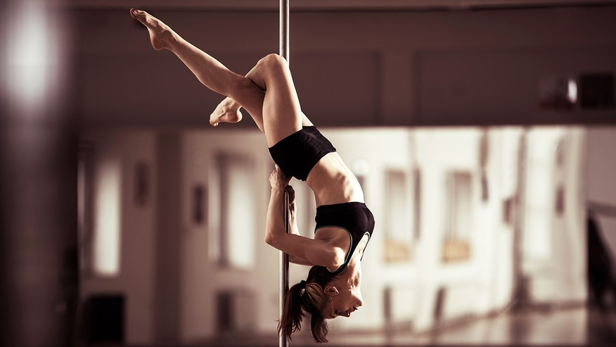 A 63-year-old grandma took up pole dancing to stay fit