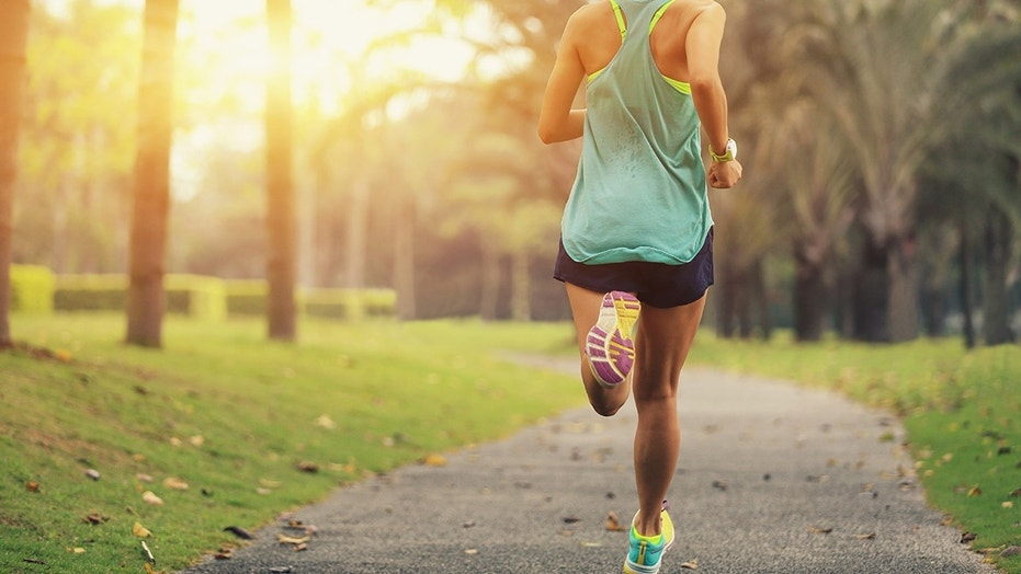 A runner is firing back at a person who said her attire is an invitation for rape culture