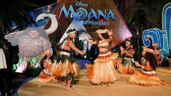 "Dancers perform at the entrance of the world premiere of Walt Disney Animation Studios' ""Moana"" as a part of AFI Fest in Hollywood, California, U.S., November 14, 2016. REUTERS/Danny Moloshok - D1BEUMXWOHAA"
