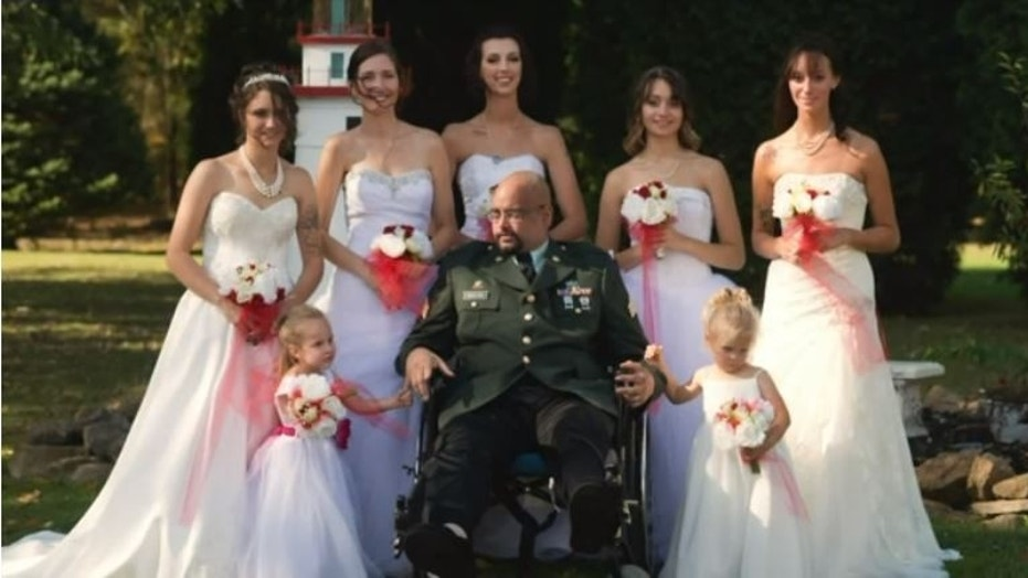 A dying father gets his wish fulfilled in a touching backyard ceremony.