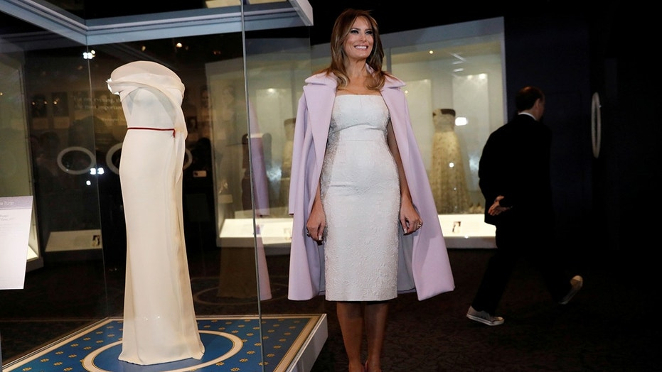 "Melania Trump's fashion may have stolen the show during her ""Inclusion Week"" trip to Michigan."