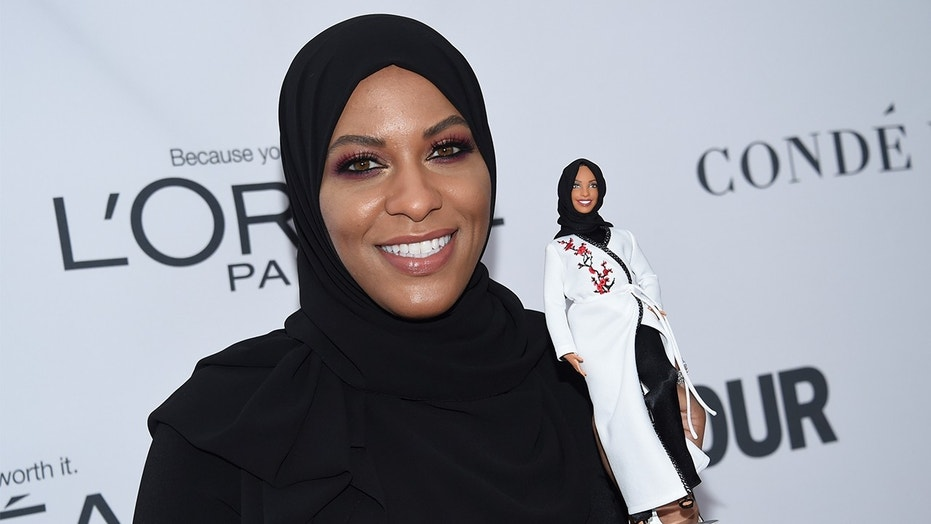 Olympian fencer inspires Barbie's first hijab-wearing doll