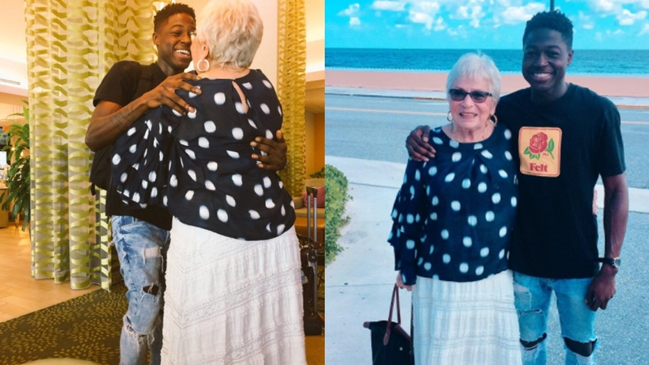 Young rapper and grandma become best friends over Words with Friends