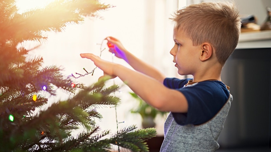 Get busy making your own Christmas tree