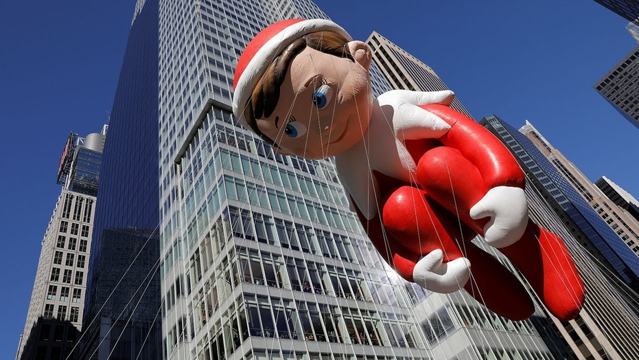 The 'Elf on the Shelf' doesn't really stick to shelves anymore.