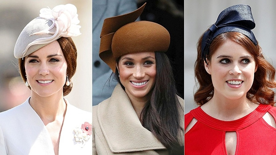 Meghan Markle, Princess Eugenie, and Kate Middleton's ...