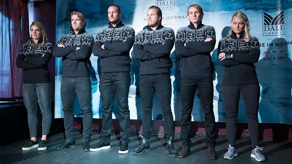 The sweaters created for the Norwegian Olympic Alpine skiing team feature a Tyr rune, which had been adopted by Nazi and neo-Nazi groups.