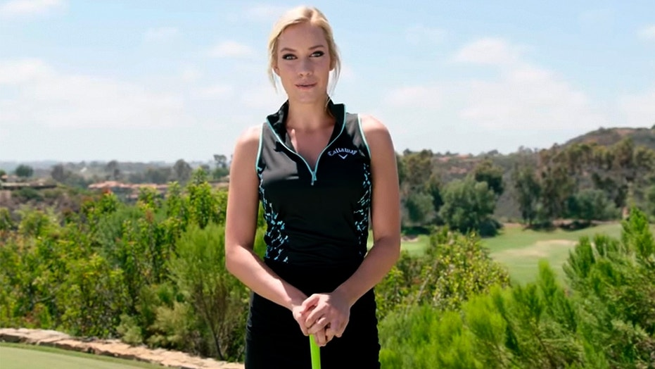 Pro golfer Paige Spiranac says she's gotten death threats and been blackmailed because of the way she dresses.