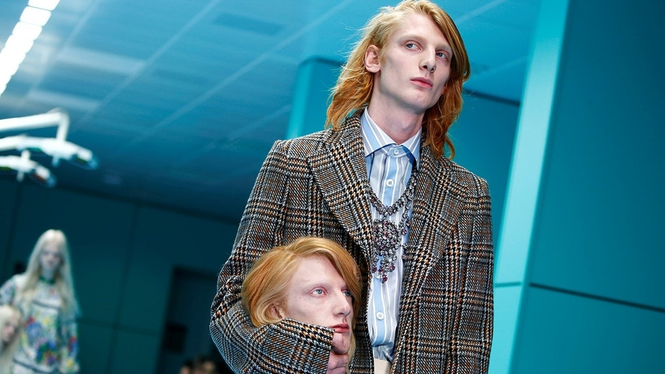 Gucci's Fall/Winter 2018 show in Milan got off to an unusual start.