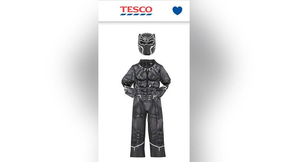 "Tesco apologized after it mislabeled the ""Black Panther"" costume as ""Dark Panther."""