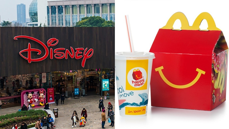 Disney jumps back in with McDonald's Happy Meals to promote its movies