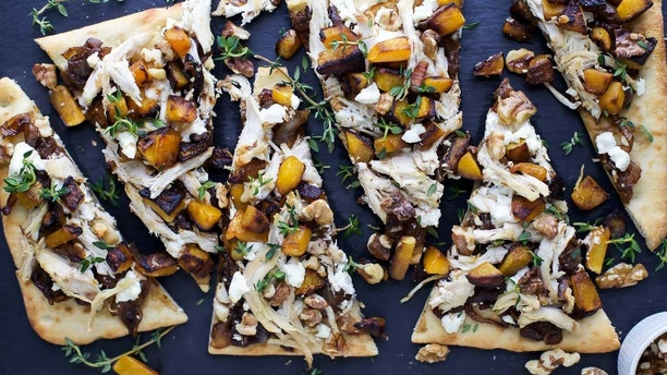 butternut flatbread joyful healthy eats