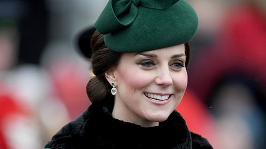 The Duchess has stepped out in both the coat and headpiece for previous engagements.