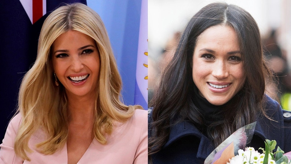 The first daughter sported a dress by Meghan Markle-approved designer Altuzarra.