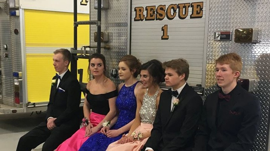 """My initial thought was: Who's going to want to take a prom picture next to a fire truck? I was wrong,"" the fire chief recalled."
