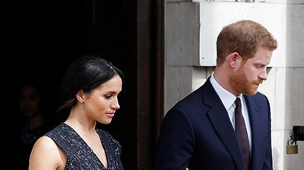 Prince Harry and Meghan Markle mark Anzac Day in London