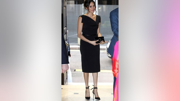 Meghan Markle attends the Women's Empowerment reception hosted by Foreign Secretary Boris Johnson during the Commonwealth Heads of Government Meeting at the Royal Aeronautical Society on April 19, 2018 in London, England. Chris Jackson/Pool via Reuters - RC1F2FC17BC0