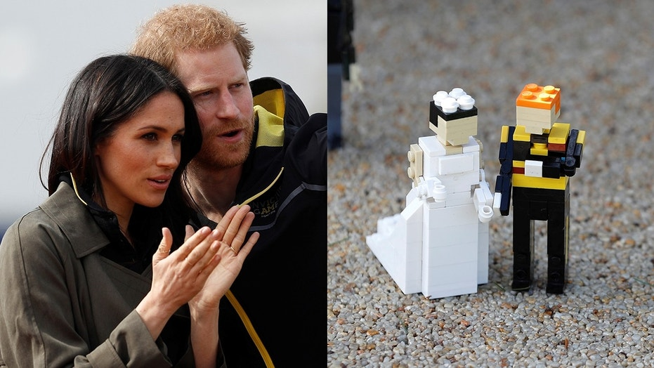 Harry and Meghan's wedding in Lego bricks