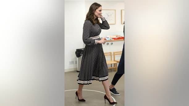 Britain's Catherine, The Duchess of Cambridge, visits the Foundling Museum in London, November 28, 2017. REUTERS/Mary Turner - RC18616511D0