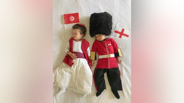 world cup babies SWNS